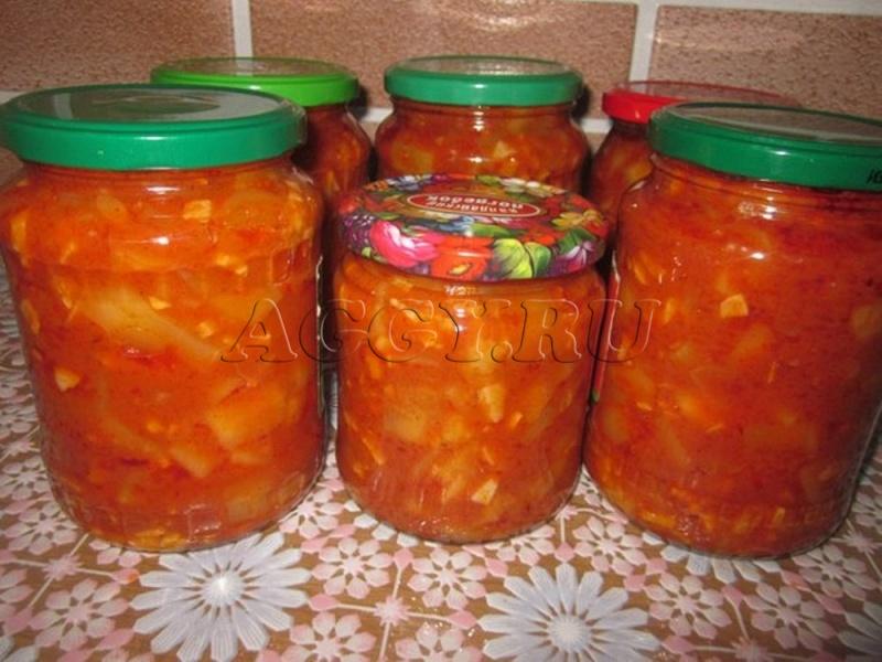 Рецепт кабачковой икры майонез томатная паста