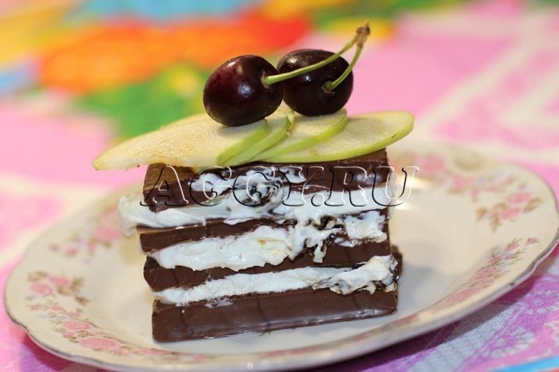 Легкий вкусный торт